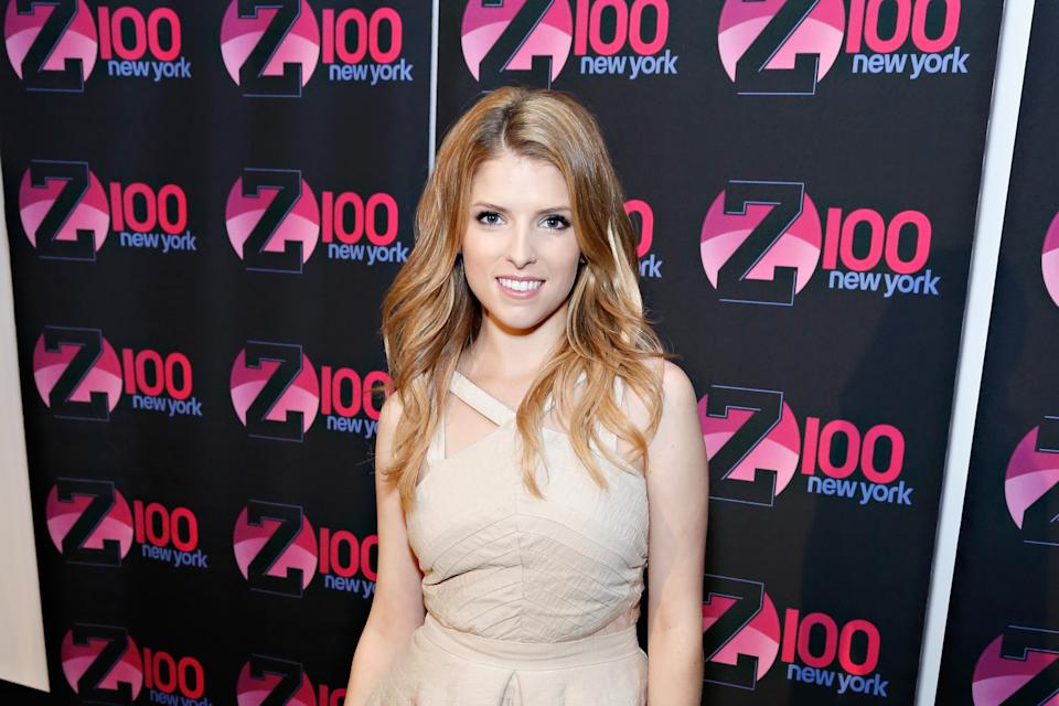 "Z100 Hosts A Special Event Featuring Anna Kendrick In Honor Of Her Hit Song, ""Cups,"" From The Film, Pitch Perfect At The iHeartRadio Theater Presented By P.C. Richard & Son In New York City"