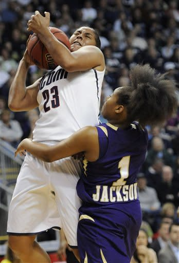UConn women rout Prairie View 83-47 in NCAA opener