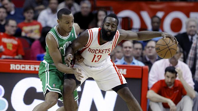 Jones, Rockets romp past Celtics, 109-85