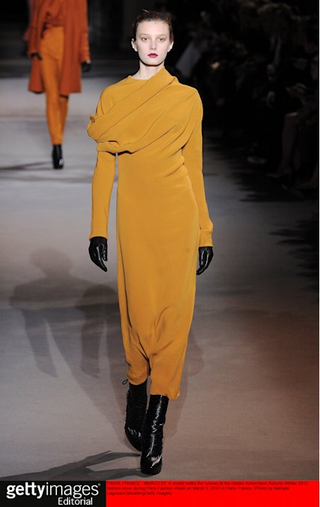 Haider Ackermann - Runway RTW - Fall 2012 - Paris Fashion Week