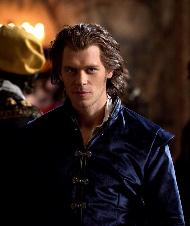 "Joseph Morgan stars as Klaus in ""The Vampire Diaries."""