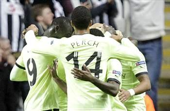 Newcastle 3-0 Bordeaux: Ameobi and Cisse fire hosts to top of Group D