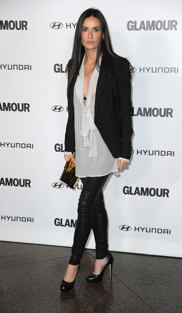 5th annual Glamour Reel Moments 2010 Demi Moore