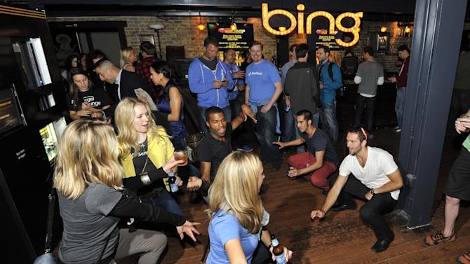 General views from the Bing Recharge Lounge, Friday, March 8, 2013, in Austin, Texas. (Photo byJack Dempsey/Invision for Bing/AP Images)