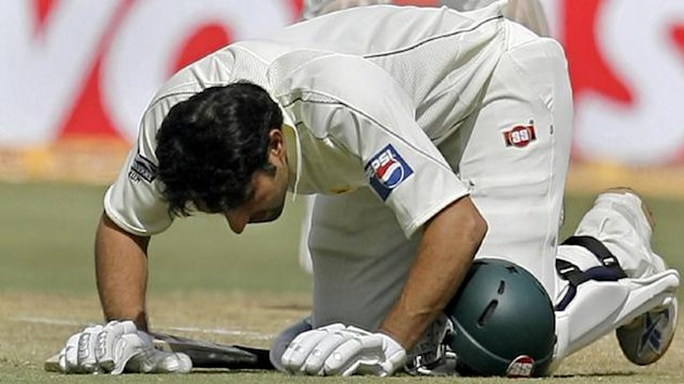 CRICKET; Misbah-ul-Haq, Pakistan, Dec 2007