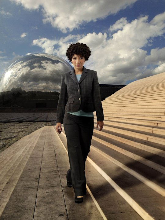"Jasika Nicole stars as Agent Astrid Farnsworth in ""Fringe."""