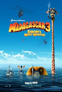 Poster of Madagascar 3: Europe&#39;s Most Wanted