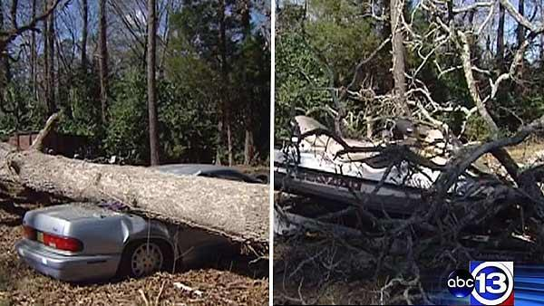 Charity says high winds damaged equipment to help disabled