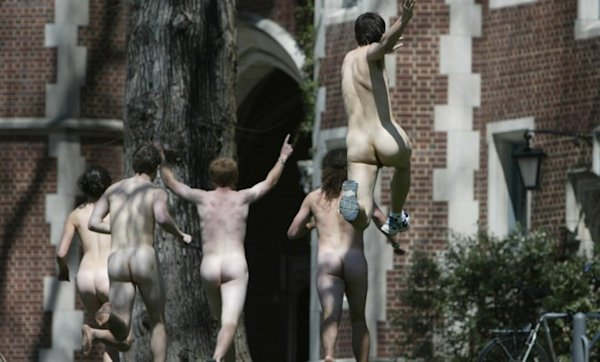 brown university naked week