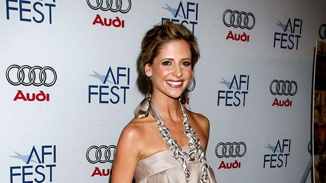 "Sarah Michelle Gellar arrives to the AFI FEST 2007 screening of ""Southland Tales"" at the Arclight Cinemas."