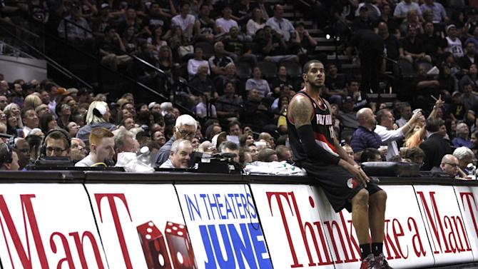 Portland Trail Blazers v San Antonio Spurs - Game One