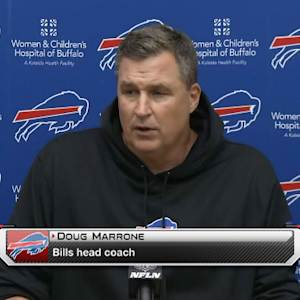 Buffalo Bills presser: head coach Doug Marrone on quarterback switch