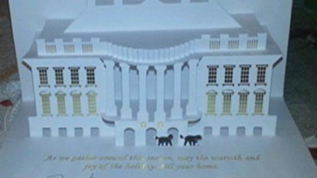 Video: The Official Obama Holiday Card Is Unveiled