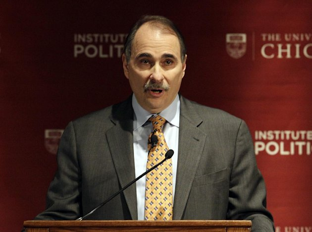 FILE - This Jan. 19, 2012 file photo shows David Axelrod, former senior advisor to President Barack Obama, speaking during a panel discussion, &quot;2012: The Path to the Presidency&quot;, at the University of Chicago in Chicago. Axelrod has landed a new job at NBC News. The network said Tuesday, Feb. 19, 2013, that Axelrod is joining as a senior political analyst. He&#39;ll contribute to broadcasts on both NBC News and the cable network MSNBC. (AP Photo/Nam Y. Huh, file)
