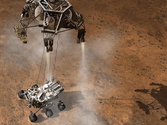 Huge Mars Rover Set for Nerve-Wracking Landing on Red Planet Today