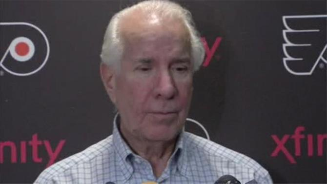 Flyers' Ed Snider completes cancer treatment
