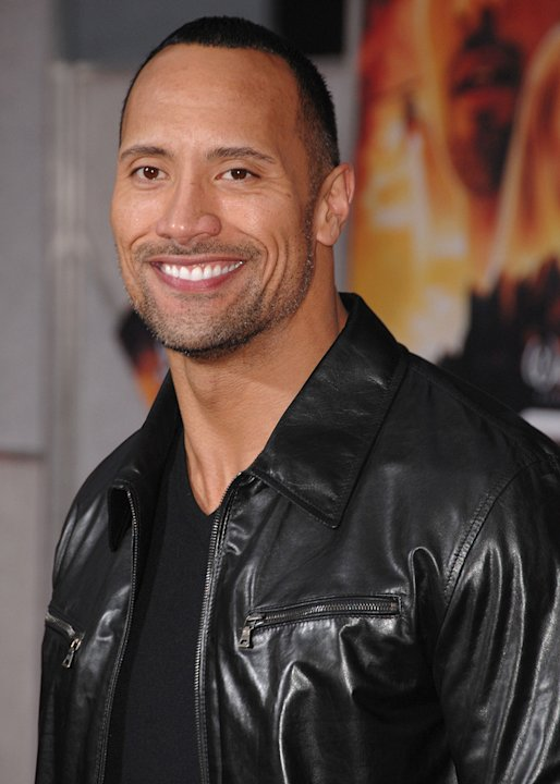 Race to Witch Mountain LA premiere 2009 Dwayne Johnson