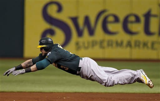 Price fans 12 to lead Rays to 7-2 win over A's