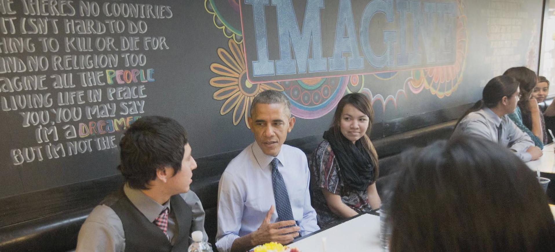 "President Obama: American's ""foodie-in-chief"""