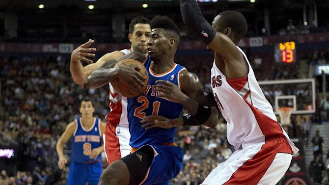 Raptors beat Knicks 100-91 in preseason