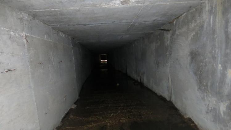 "An interconnected tunnel in the city's drainage system that infamous drug boss Joaquin Guzman Loera, ""El Chapo"" used to evade authorities, is shown, in Culiacan, Mexico, Sunday Feb. 23, 2014. A day after troops narrowly missed infamous Guzman in Culiacan, one of his top aides was arrested. Officials said he told investigators that he picked up Guzman from a drainage pipe and helped him flee to Mazatlan but a wiretap being monitored by ICE agents in southern Arizona provided the final clue that led to the arrest of one of the world's most wanted men. (AP Photo/Adriana Gomez)"