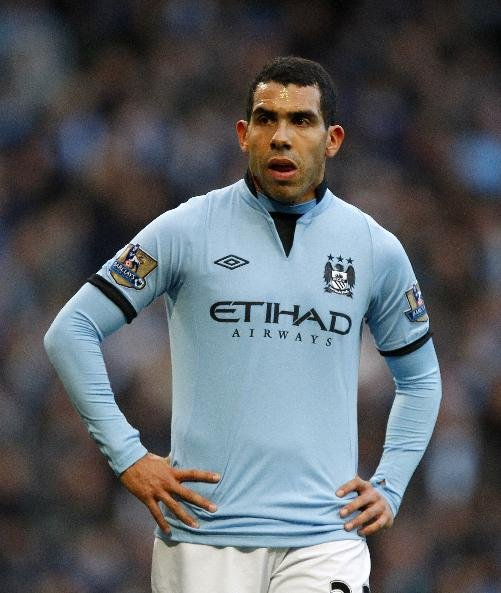Carlos Tevez is facing a lean run of form in front of goal