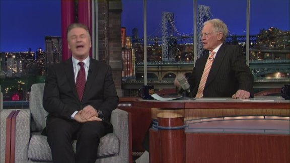 David Letterman - Alec Baldwin …