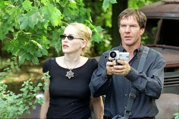 Sharon Stone and Dennis Quaid in Touchstone's Cold Creek Manor
