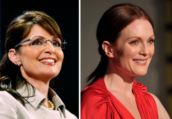 FILE PHOTO:  Actress Julianne Moore To Play Republican Politician Sarah Palin In Biopic Role
