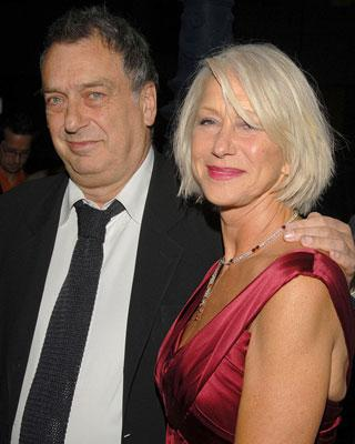 Stephen Frears , director and Helen Mirren at the Los Angeles Premiere of Miramax Films' The Queen