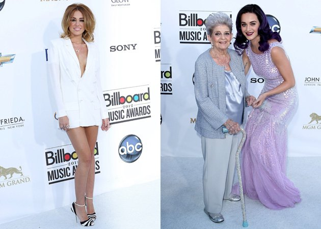 Billboard Music Awards 2012, Miley Cyrus, Katy Perry