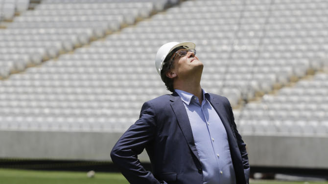 World Cup venue in danger of not being ready