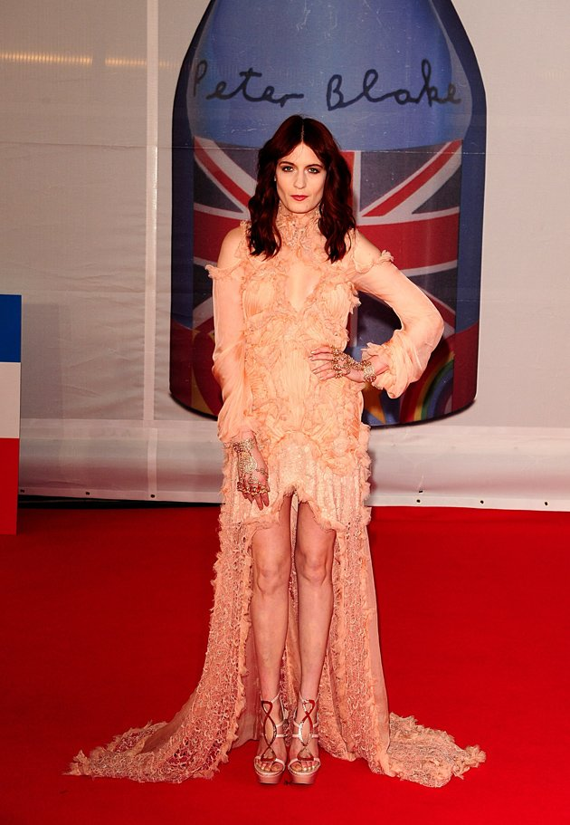 BRITs 2012: Florence Welc …