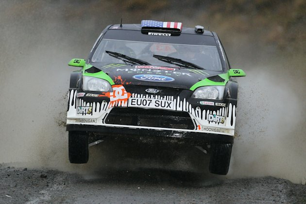 Wales Rally  GB - Day One