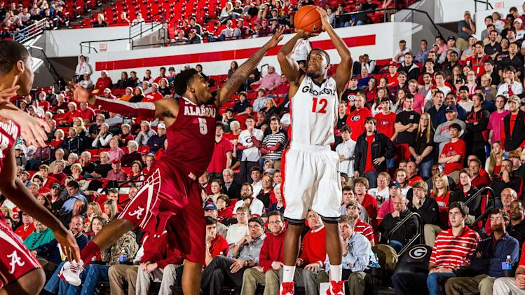 NCAA Basketball: Alabama at Georgia