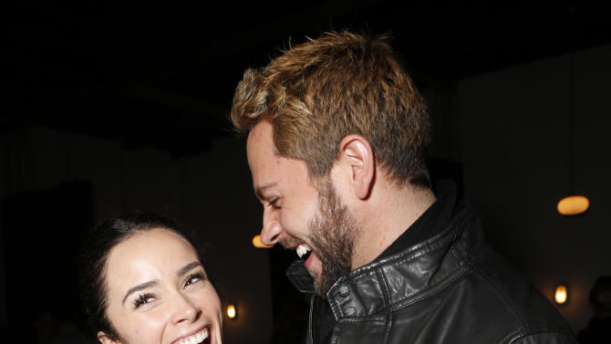 IMAGE DISTRIBUTED FOR UGANDAPROJECT - Abigail Spencer and Zachary Levi attend the 3rd Annual Witness Uganda Concert Presented by Siren Studios to Benefit UgandaProject on Thursday, Dec. 6, 2012 in Los Angeles, California. (Photo by Todd Williamson/Invision for UgandaProject/AP Images)
