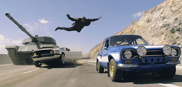 Tyrese in 'Fast &amp; Furious 6'