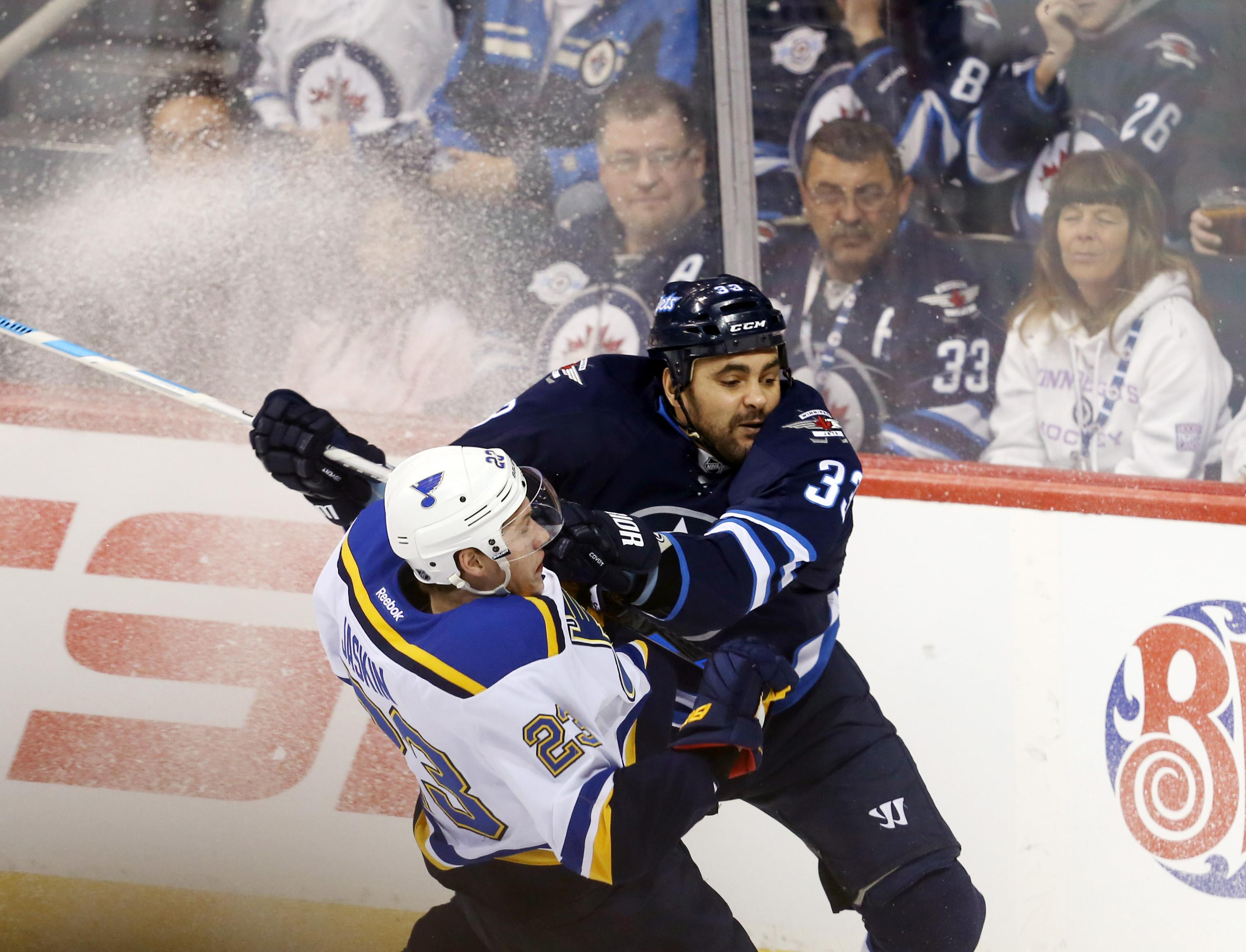 Dustin Byfuglien out 2-4 weeks with an upper body injury (Video)