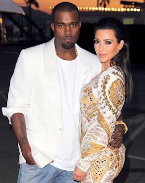 """Proud Girlfriend"" Kim Kardashian Tweets Her Love for Boyfriend Kanye West's New Video"