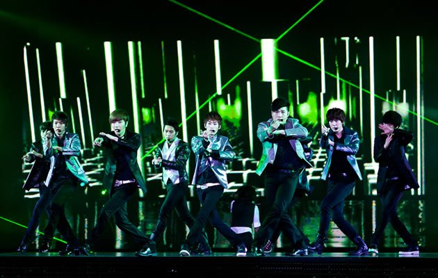 Super Junior performed to a sold out crowd at Singapore Indoor Stadium (Photo courtesy of Running Into The Sun)