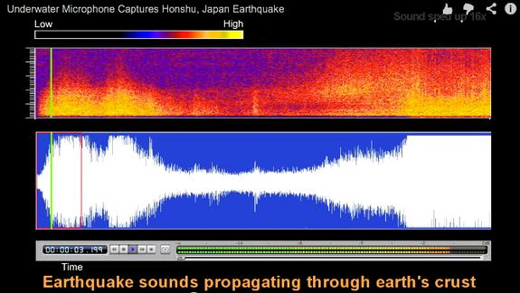 Earthquake Sounds Its Own Tsunami Warning