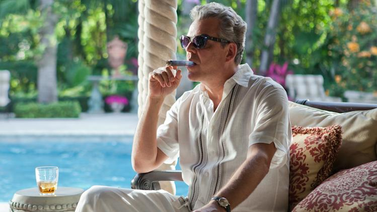 "This publicity image released by Starz, shows Danny Huston in a scene from the second season of the series ""Magic City,"" set in Miami, Fla.  The second season premieres Friday, June 14 at 9 p.m. on Starz. (AP Photo/Starz, Justina Mintz)"