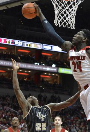 Smith, No. 12 Louisville top Central Florida 87-70
