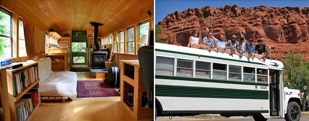 4 vehicles transformed into awesome rolling homes