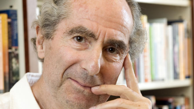 "FILE - In this Sept. 8, 2008 file photo, author Philip Roth poses for a photo in the offices of his publisher Houghton Mifflin, in New York. The 79-year-old novelist recently told a French publication, Les inRocks, that his 2010 release ""Nemesis"" would be his last. A spokeswoman for Houghton Mifflin Harcourt said Friday that she spoke with Roth and that he confirmed his remarks. Roth completed more than 20 novels over half a century and often turning out one a year. He won virtually every prize short of the Nobel and wrote such classics as ""American Pastoral"" and ""Portnoy's Complaint.""  (AP Photo/Richard Drew, file)"