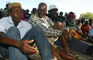 Lemba people attend a meeting in Gutu, the Zimbabwean capital of Harare. The Lemba have managed to prevent their customs from being absorbed or wiped out by dominant local and colonial cultures