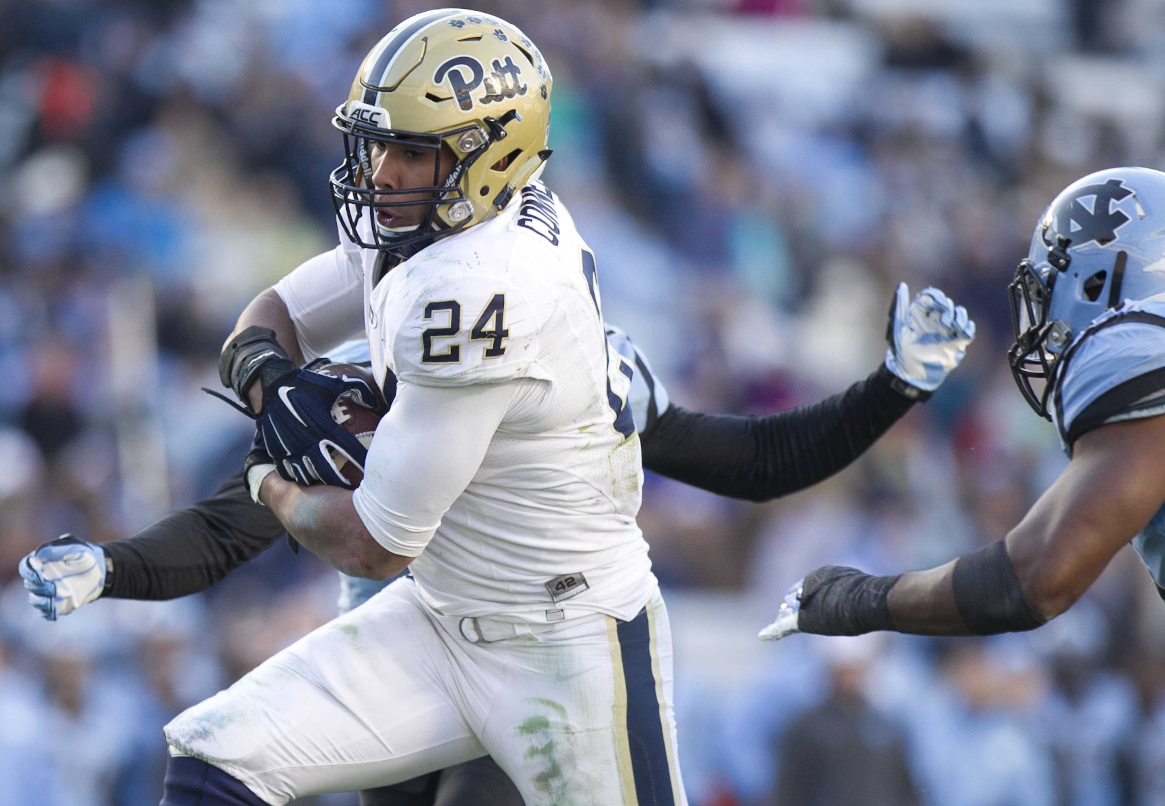 Pitt RB James Conner says he is cancer-free