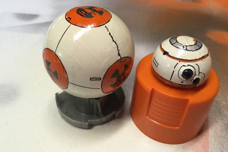 This designer made his own BB-8 Star Wars droid
