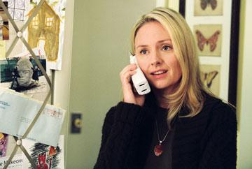 Hope Davis in Paramount Pictures' The Weather Man