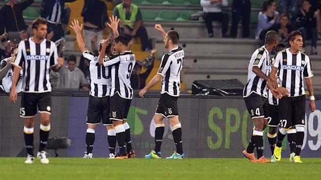 Udinese celebrate (Getty Images)